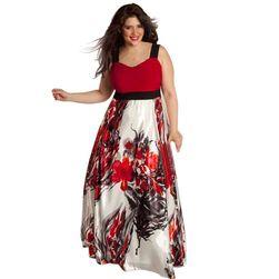Dámské šaty plus size Jillie