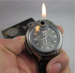Мужские наручные часы в армейском стиле с зажигалкой