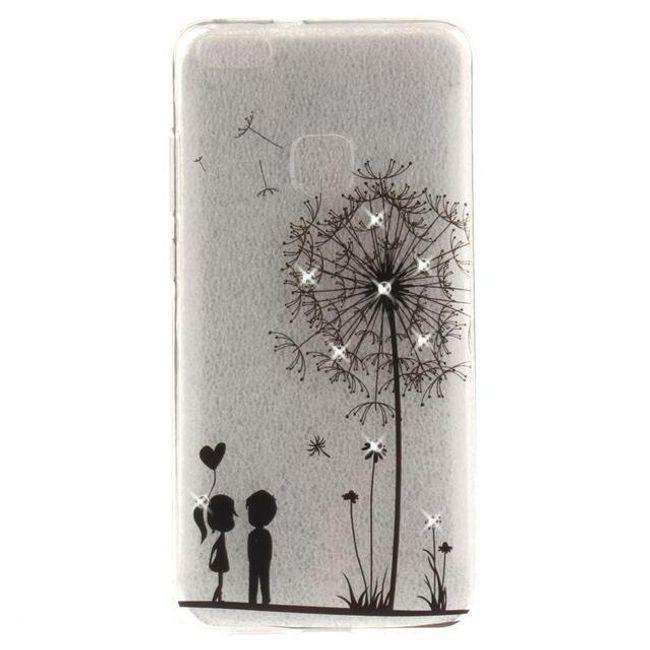 Průhledné pouzdro s kresbou - Huawei P10 lite 1