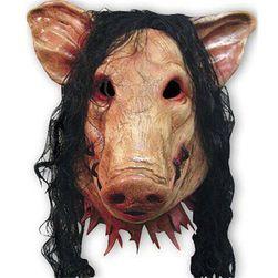 Maska prasete na Halloween
