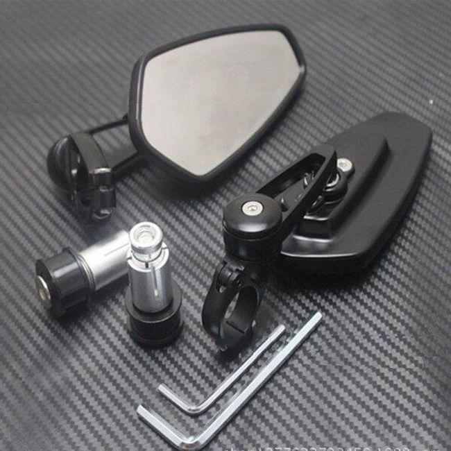 Aluminijasta ogledala za motorna kolesa 1