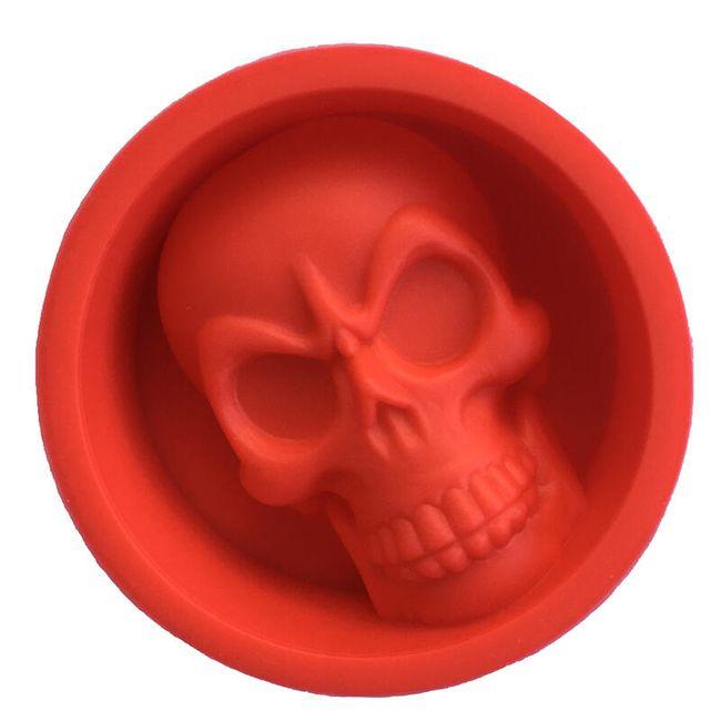 Formă din silicon - craniu 1