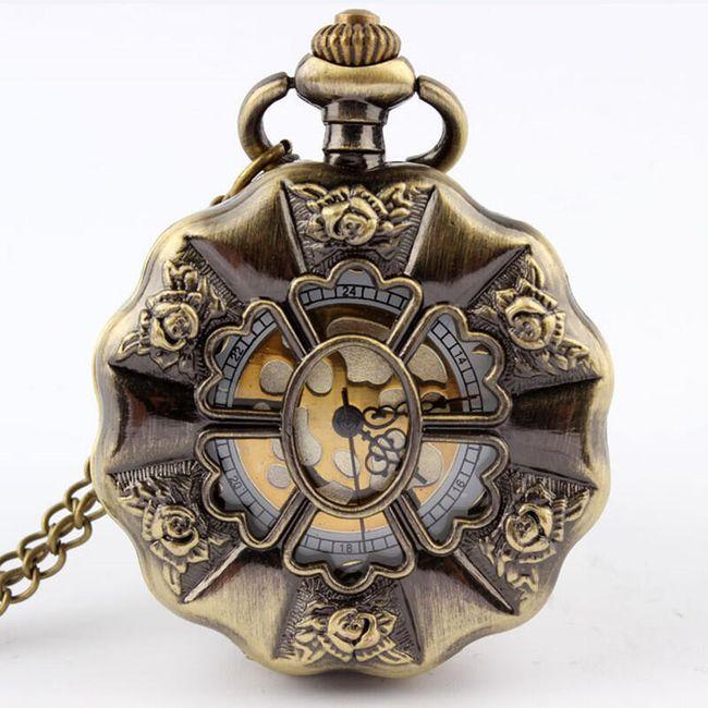 Kapesní hodinky v retro stylu 1