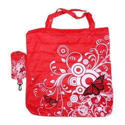 Összecsukható bevásárló táska díszekkel