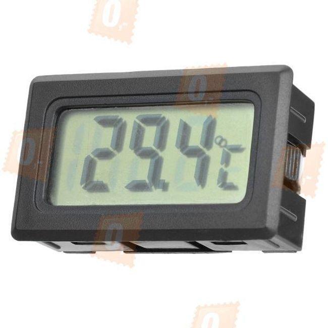Hőmérő LCD kijelzővel, kültéri érzékelővel 1