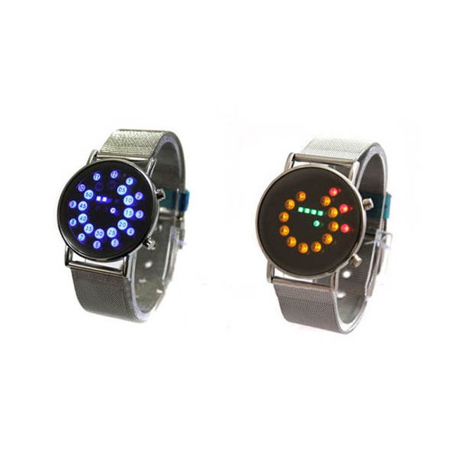 LED hodinky s barevnými diodami - na výběr ze 2 provedení 1