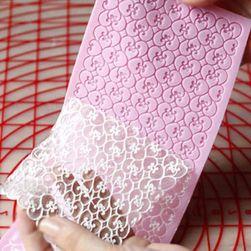 Forma de silicon pentru fondant - ornamente delicate