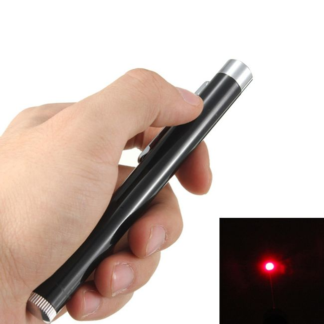 Laser z rdečim žarkom 1