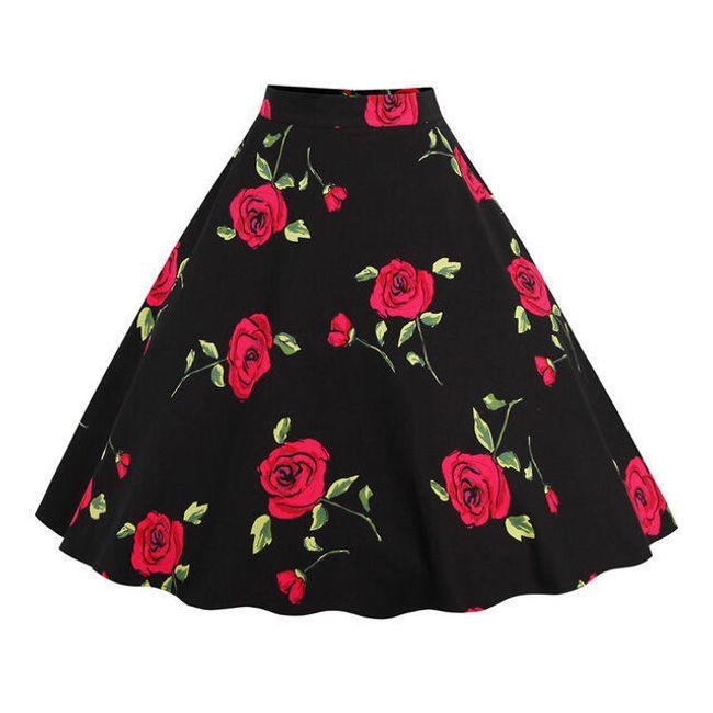 Sving retro suknja - 8 varijanta 1