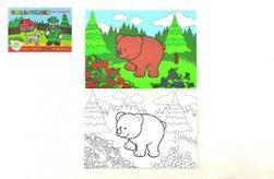 Kolorowanka Moje pierwsze leśne zwierzęta 8 arkuszy  21x14,5cm MPLZ RM_11400105