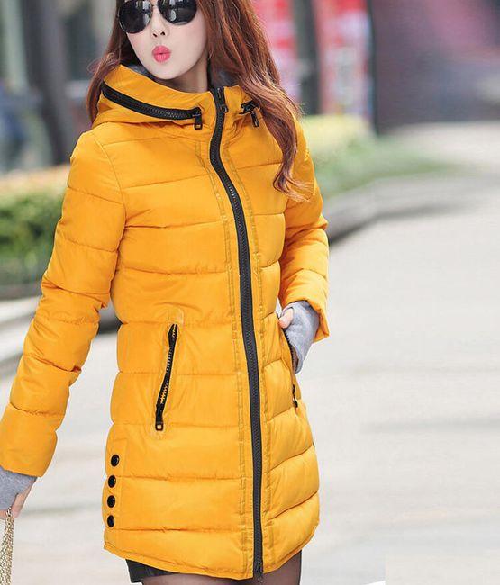 Carisa női kabát - 9 színben