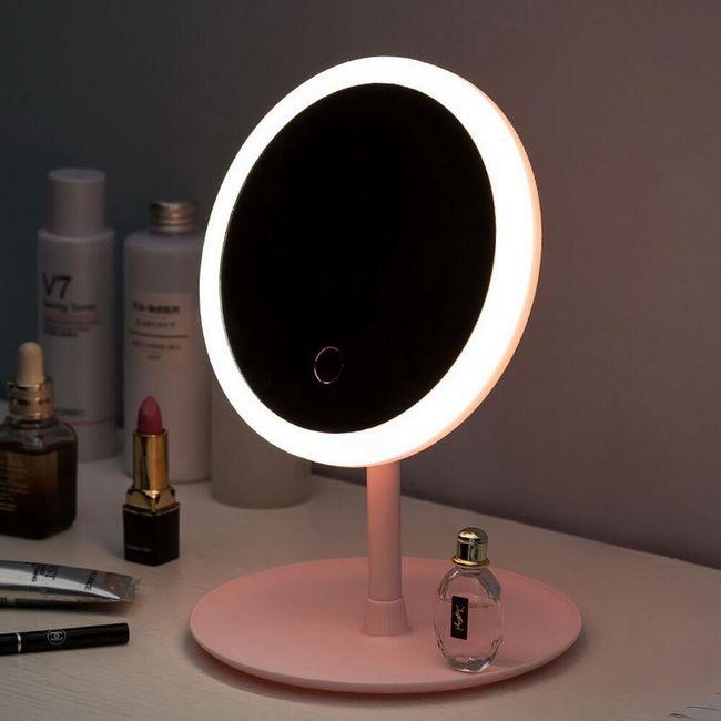 Lustro z oświetleniem LED Cali 1
