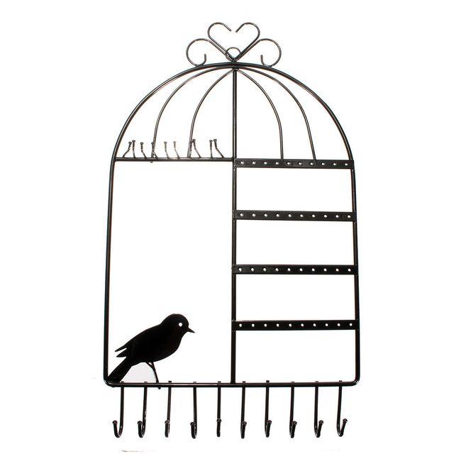 Ékszertartó madárketrec formában 1