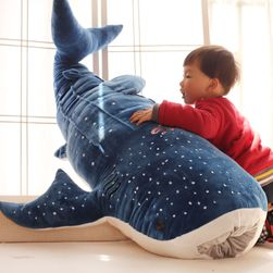 Pluszowy wieloryb - 50 lub 100 cm