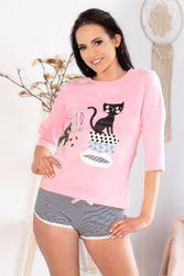 Dámské pyžamo Aprodit Cat - LivCo Corsetti PR_P43905