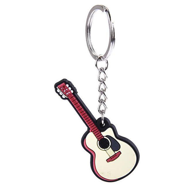 Klíčenka s hudebním nástrojem - více druhů 1