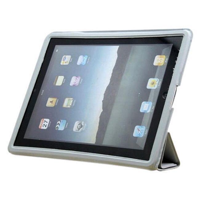 Magnetické chytré pouzdro pro iPad 2 - šedé ultratenké 1