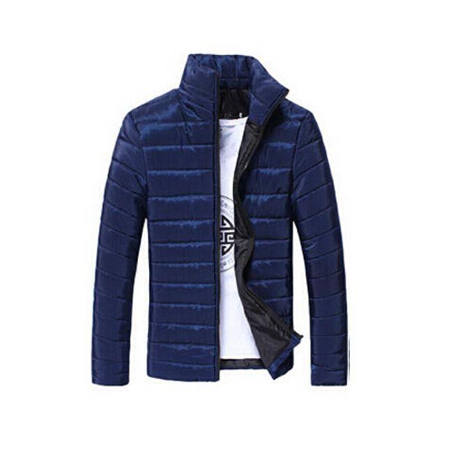 Pánská prošívaná bunda Gregor - 8 barev - L/XL modrá 1