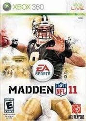 Hra (Xbox 360) Madden NFL 11