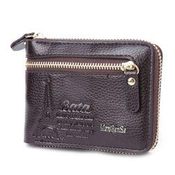 Pánska peňaženka na zips