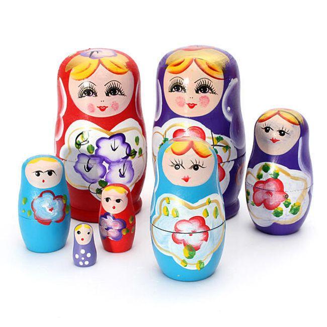 Ruske matrjoške - 3 boje 1