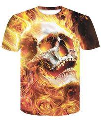 Мъжка тениска с къс ръкав Achmades