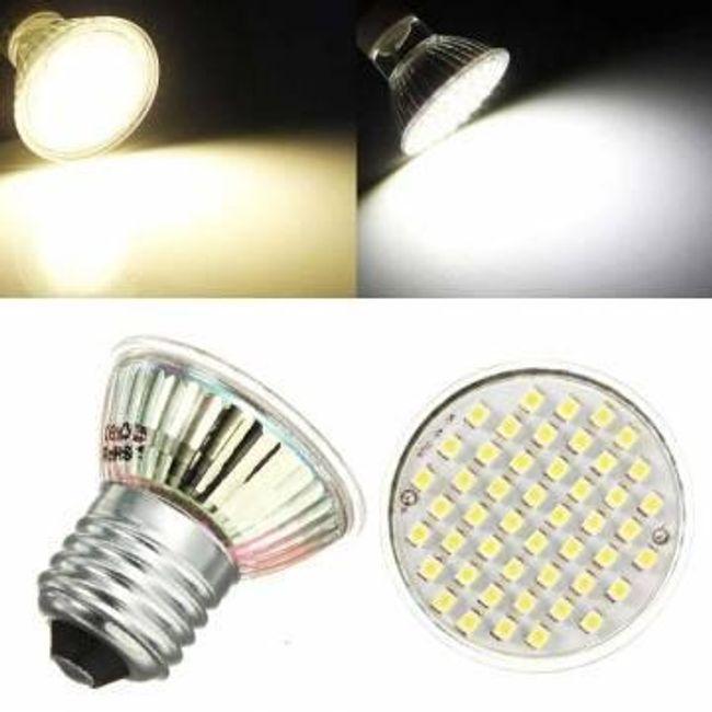 E27 3W LED izzó - 48 LED 1