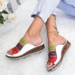 Dámské pantofle Jamesina Bílá  42