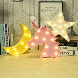 3D dekoratív lámpa