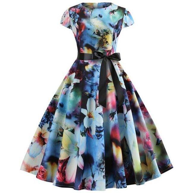 Vintage šaty Leslie 1