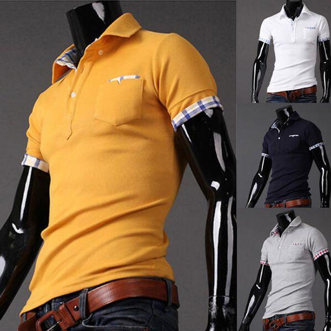 Pánské polo tričko - více barev 1