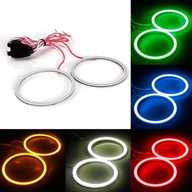LED prstenovi (anđeoske oči) za automobile - 5 boja svetlosti 1