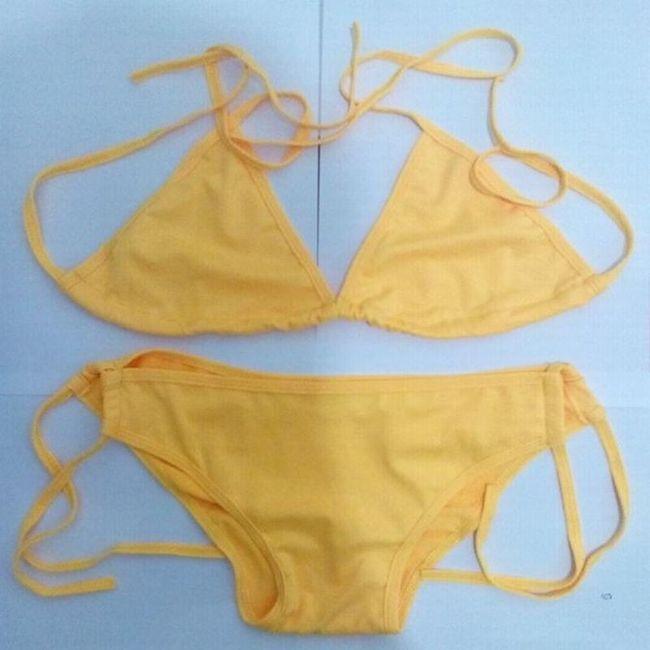 Női fürdőruha nyakpánttal - több szín