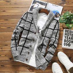 Pánský svetr na knoflíky