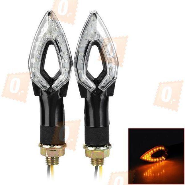LED blinkry na motocykl 2ks - 12LED 1