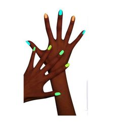 Fluorescenční lak na nehty