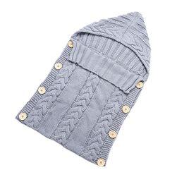 Sac de dormit tricotat pentru copii - 6 culori