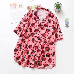 Ženska kratka košulja Strawberry
