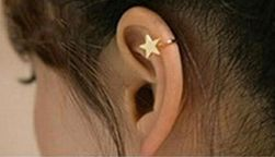 Cercel pentru cartilagiu - diverse forme