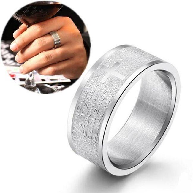 Széles gyűrű gazdag díszítéssel 1