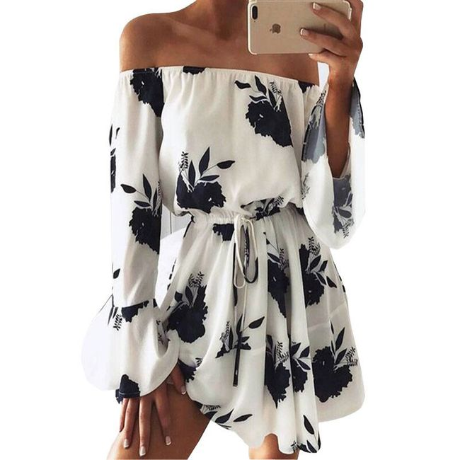 Цветочное летнее платье Brenda- 4 варианта  1