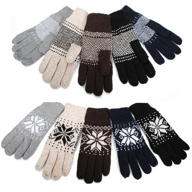 Pánské zimní rukavice - v 5 barvách 1