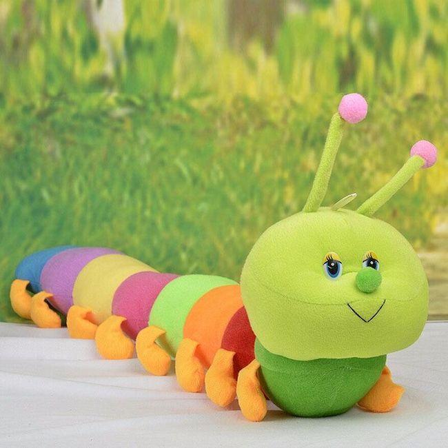 Мягкая игрушка, Сороконожка- 50 см. 1