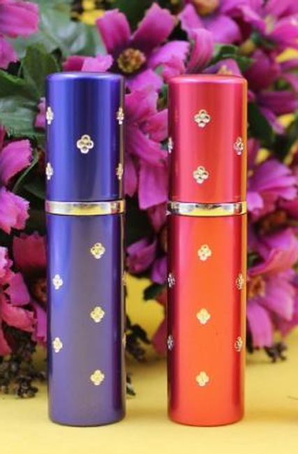 Mini flakónek na parfém - doplňovatelný, 4 barvy 1