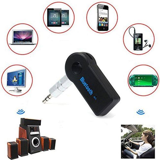 Akıllı telefonunuzdan müzik dinlemek için Bluetooth adaptörü 1