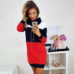 Dámské mikinové šaty DS36 size 4