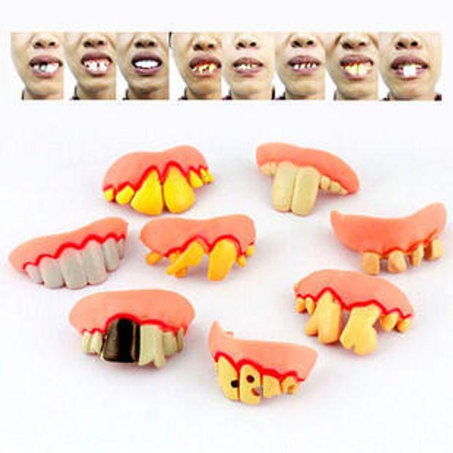 Karnawałowy dodatek - zęby 1