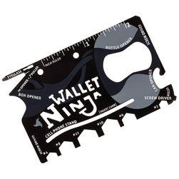 Ocelová multifunkční karta Wallet Ninja 18v1 SR_123798