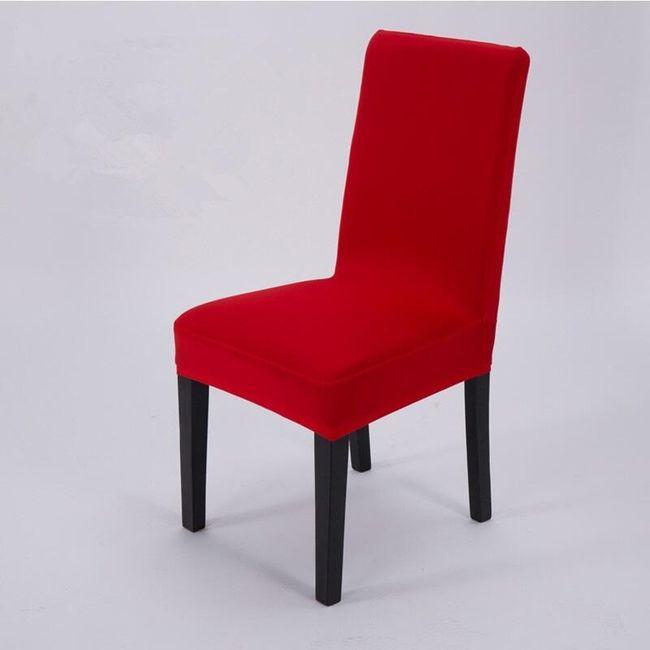 Elegantna navlaka za kuhinjske stolice - 9 boja 1