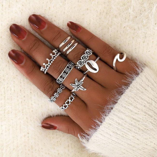 Sada prstýnků Melody 1